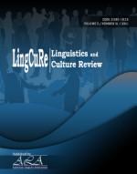 View Vol. 5 No. S1 (2021): LingCuRe